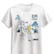 Тениска Ком-Емине. Производител: Russel Произведено в Мароко Номерация по европейската номенклатура.