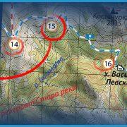 Маркиране на важните обекти върху картата / Пътеводител Ком-Емине